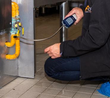 Vérification installation gaz combustible